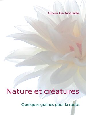 cover image of Nature et créatures