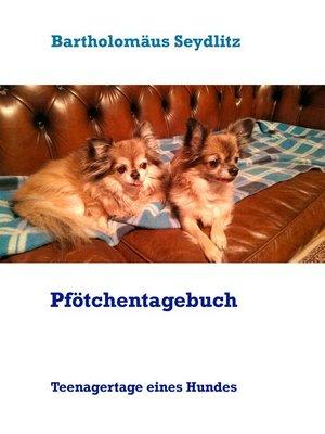 cover image of Pfötchentagebuch