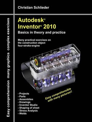 cover image of Autodesk® Inventor® 2010