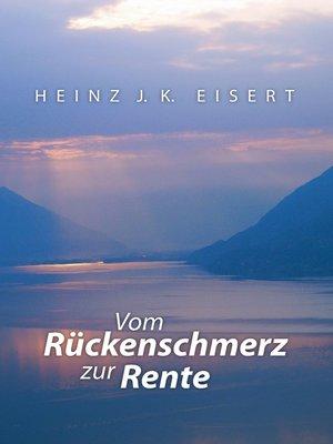 cover image of Vom Rückenschmerz zur Rente