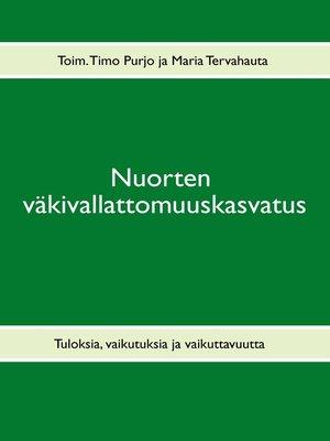 cover image of Nuorten väkivallattomuuskasvatus