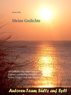cover image of Meine Gedichte