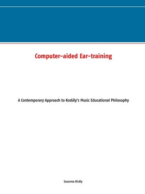 cover image of Computer-aided Ear-training