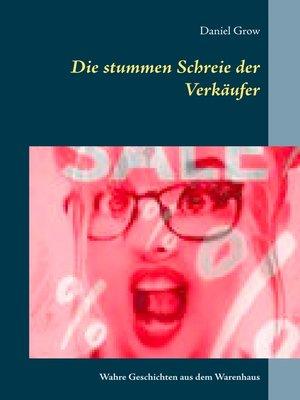 cover image of Die stummen Schreie der Verkäufer
