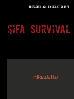 cover image of SiFa Survival