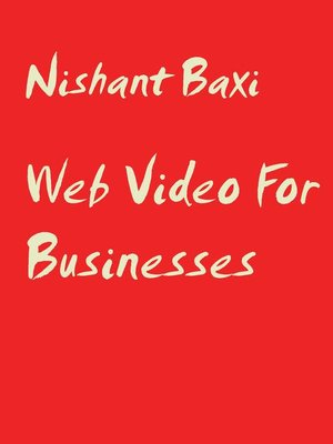 cover image of Web Video For Businesses