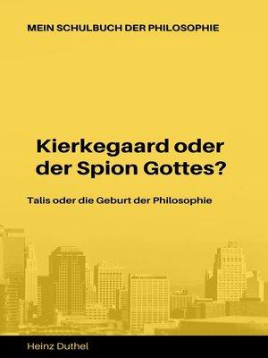 cover image of Mein Schulbuch der Philosophie Talis Kierkegaard