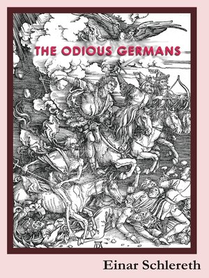 cover image of The Odious Germans