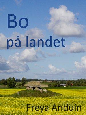 cover image of Bo på landet