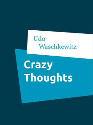 cover image of Crazy Thoughts