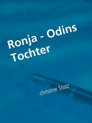 cover image of Ronja--Odins Tochter