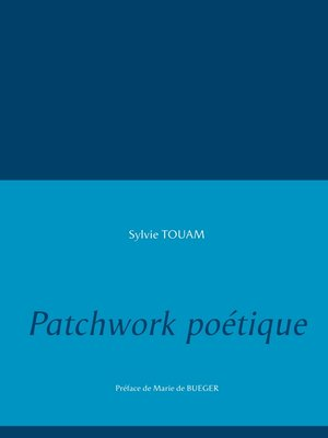 cover image of Patchwork poétique
