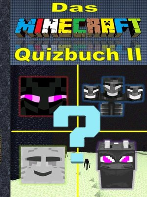 cover image of Das Minecraft Quizbuch Teil 2