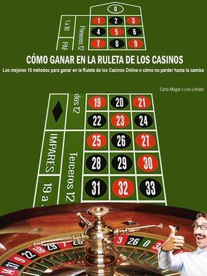 cover image of Cómo ganar en la ruleta de los casinos
