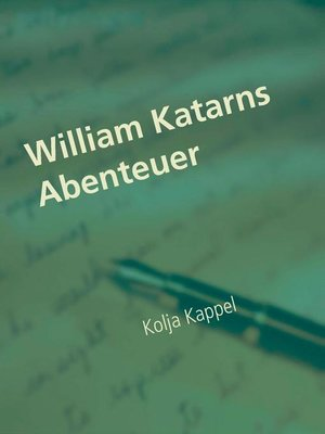 cover image of William Katarns Abenteuer