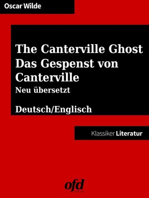 cover image of Das Gespenst von Canterville--The Canterville Ghost