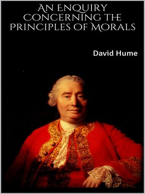 cover image of An Enquiry Concerning the Principles of Morals