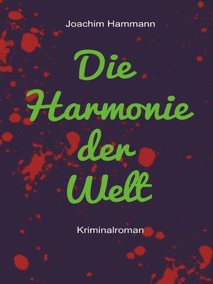 cover image of Die Harmonie der Welt. Neufassung