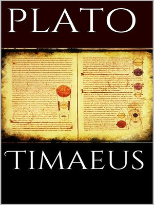 cover image of Timaeus