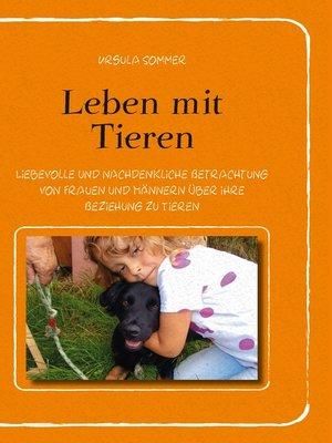 cover image of Leben mit Tieren