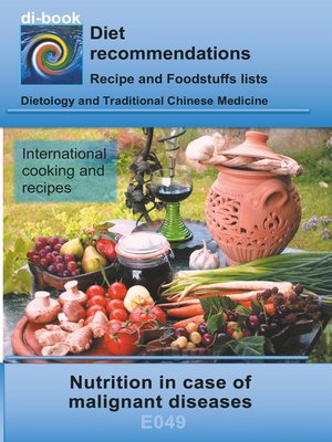 cover image of Nutrition in case of malignant diseases