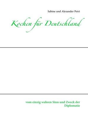 cover image of Kochen für Deutschland