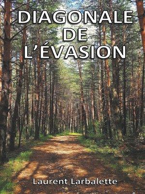 cover image of Diagonale de l'évasion (poche)