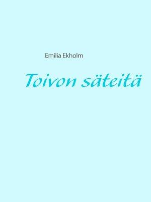 cover image of Toivon säteitä