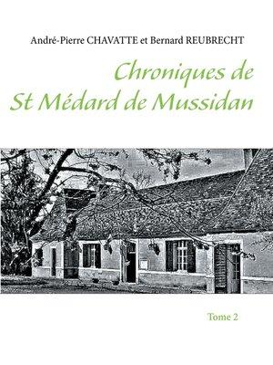 cover image of Chroniques de Saint Médard de Mussidan
