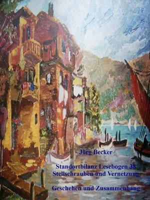 cover image of Standortbilanz Lesebogen 38 Stellschrauben und Vernetzung