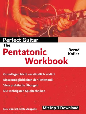 cover image of Perfect Guitar--The Pentatonic Workbook