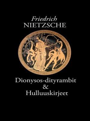 cover image of Dionysos-dityrambit