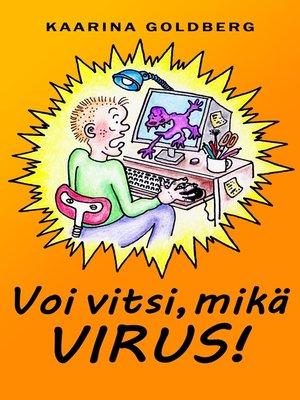 cover image of Voi vitsi, mikä virus