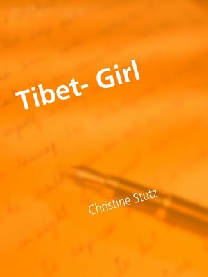 cover image of Tibet- Girl