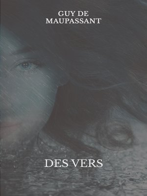 cover image of Des vers
