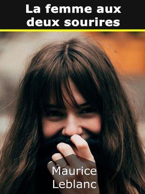 cover image of La femme aux deux sourires