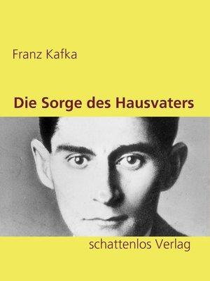 cover image of Die Sorge des Hausvaters