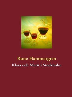 cover image of Klara och Merit i Stockholm