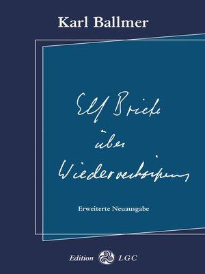 cover image of Elf Briefe über Wiederverkörperung