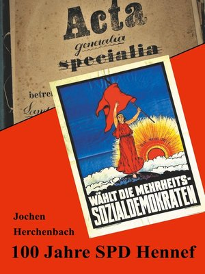 cover image of 100 Jahre SPD Hennef