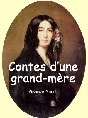 cover image of Contes d'une grand-mère