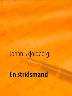 cover image of En stridsmand