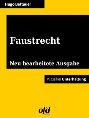 cover image of Faustrecht