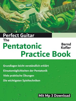 cover image of Perfect Guitar--The Pentatonic Practice Book