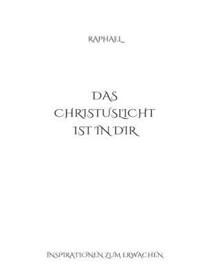 cover image of Das Christuslicht ist in Dir