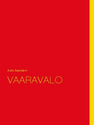 cover image of VAARAVALO