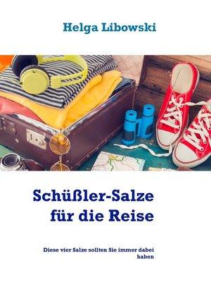 cover image of Schüßler-Salze für die Reise