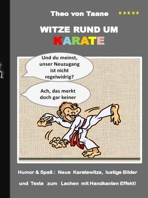 cover image of Witze rund um Karate