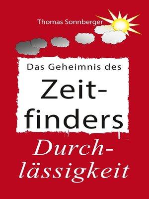 cover image of Das Geheimnis des Zeitfinders