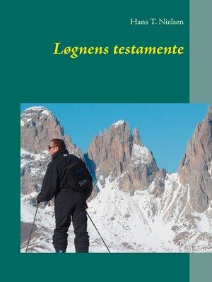 cover image of Løgnens testamente